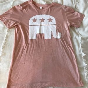 Republican Elephant Top